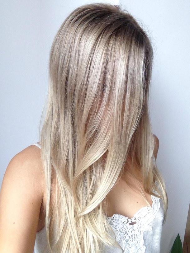 Platinum Blonde Hair Color Shades And Styles - Hairstyle color pic