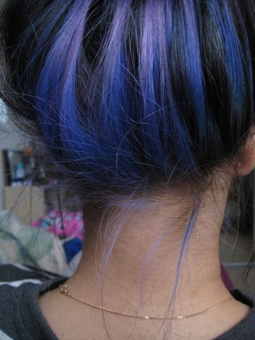 Pretty Color To Dye Your Hair: Blue Black Hair Tips And Styles