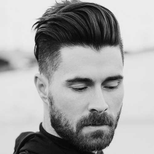 Wearing Your Throwback Pompadour With An Undercut Is The Best Way To Mix Modern And Vintage Styles This Look Easiest Pull Off For Men Straight