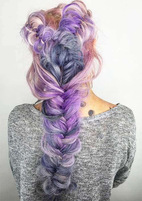 how to start a fishtail braid