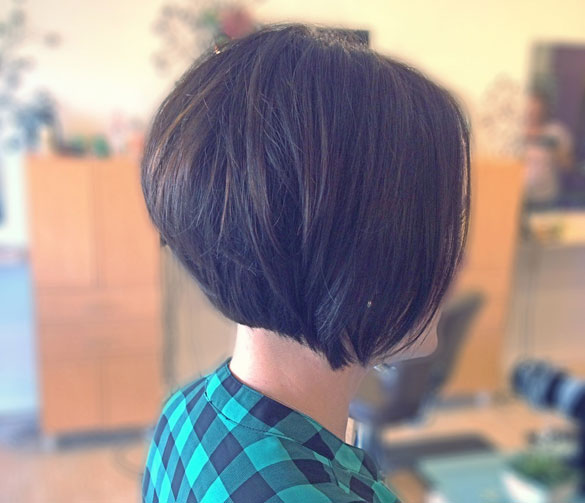 Fantastic 30 Stacked Bob Haircuts For Sophisticated Short Haired Women Hairstyle Inspiration Daily Dogsangcom