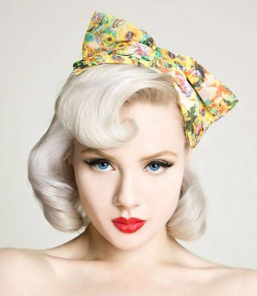 50s Hairstyles For Women Pin Up
