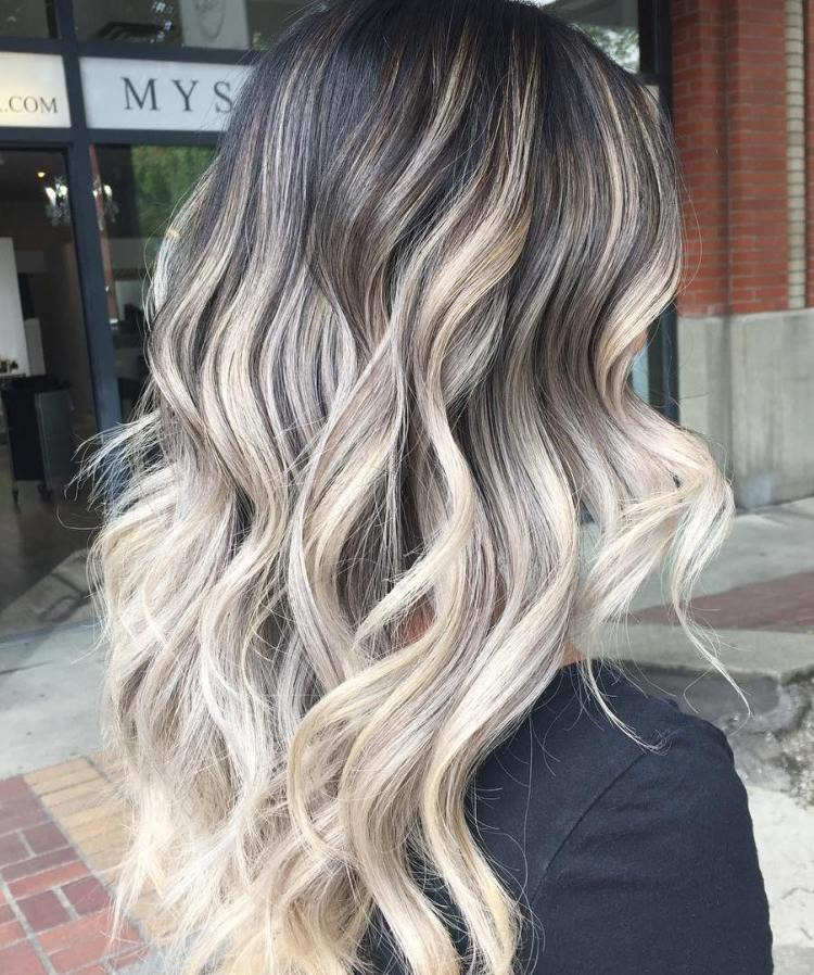 Blonde balayage hair colors with highlights balayage blonde part 6 if you like your blondes without any hints of yellow try this ultra light shade of ashy platinum for your next set of balayage highlights pmusecretfo Choice Image