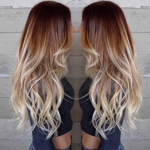 Blonde balayage hair colors with highlights balayage blonde part 11 brighten up red locks with blonde balayage highlights that take your autumn colored hair to a sunny summer shade pmusecretfo Choice Image