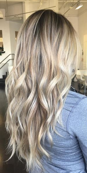 Blonde balayage hair colors with highlights balayage blonde - Balayage blond blanc ...