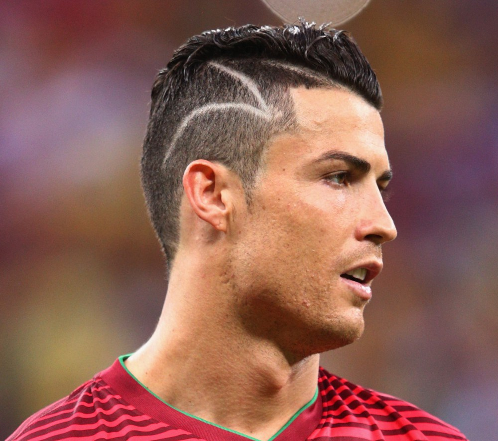 Best Of Cristiano Ronaldo Haircuts For Slick Modern Men - New hairstyle cristiano ronaldo 2014