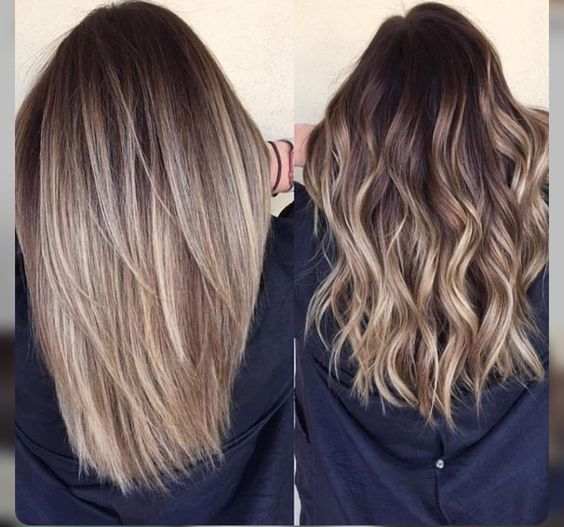 Blonde balayage hair colors with highlights balayage blonde for Balayage braun blond