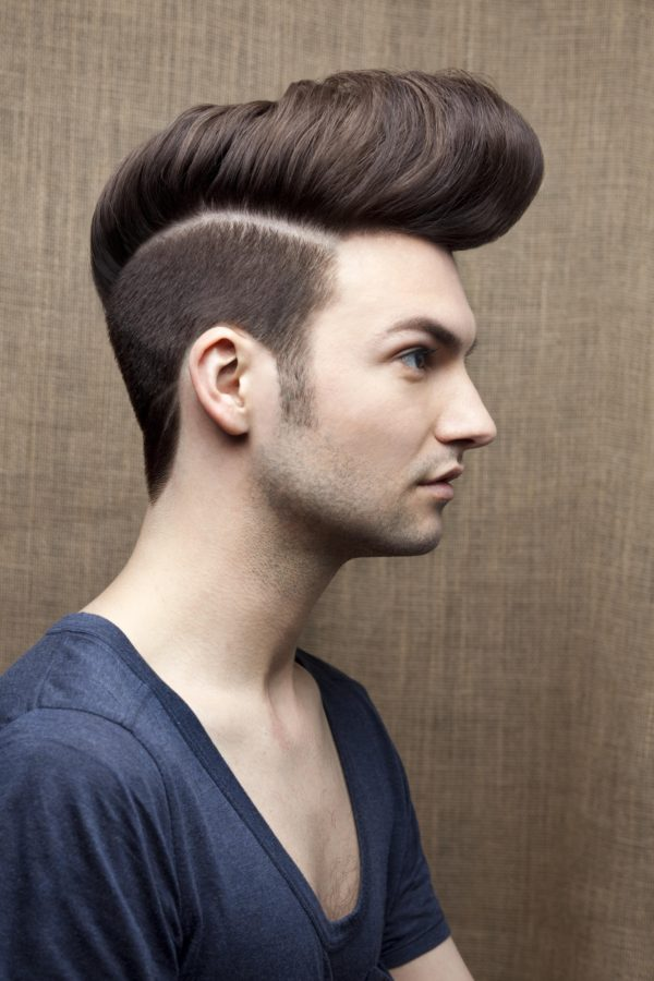 28 edgy disconnected undercuts for modern men 19sculpted quiff with disconnected undercut urmus Choice Image