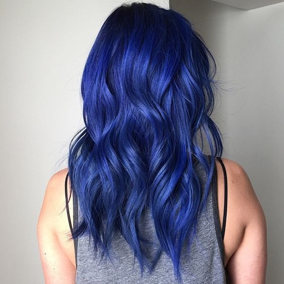 How To Dye Your Hair Naturally Blue
