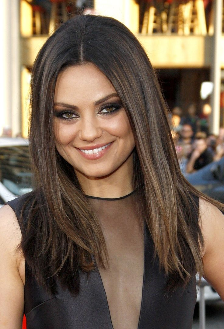 35 rich and sultry dark brown hair color ideas 31cool dark brown with ash highlights pmusecretfo Choice Image