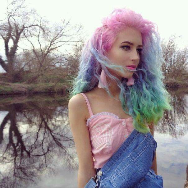 Cotton Candy Wigs