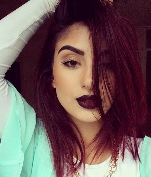 30 Maroon Hair Color Ideas For Sultry Reddish Brown Styles
