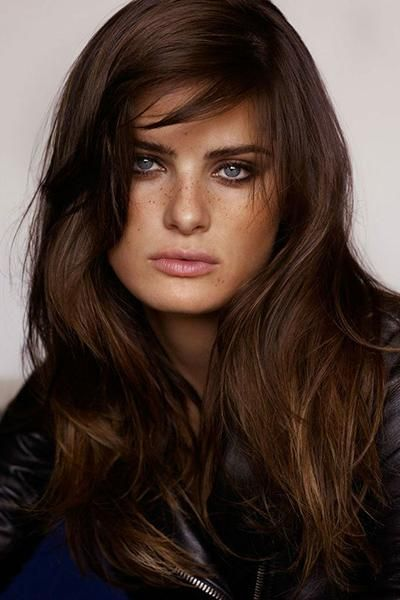 35 rich and sultry dark brown hair color ideas this dark golden brown hair color radiates warmth and sensuality this shade was made for medium warm skin tones while women with deeper skin tones might urmus Gallery