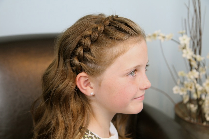 Girl Hairstyles Cool: 40 Pretty Fun And Funky Braids Hairstyles For Kids