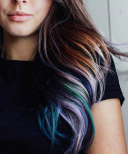 How To Get Oil Slick hair