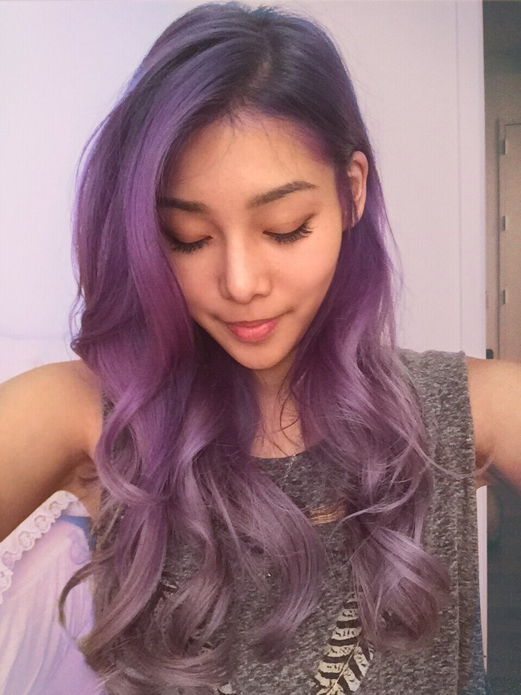 30 Brand New Ultra Trendy Purple Balayage Hair Color Ideas