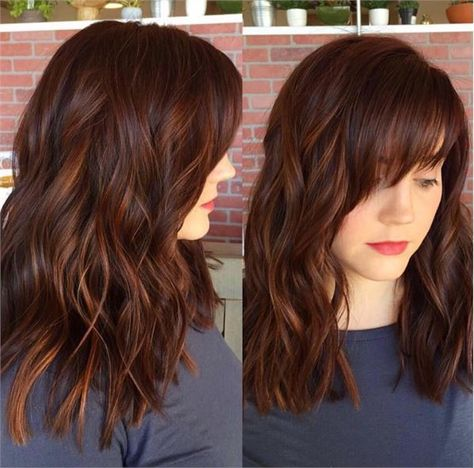 Top 35 warm and luxurious auburn hair color styles blink and you might miss these super subtle highlights theyre perfect for ladies who want a luxurious hair color that doesnt look too distracting or pmusecretfo Gallery
