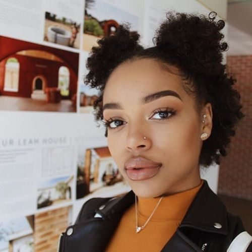 Short natural hairstyles natural hairstyles for short hair this half up version is perfect for ladies whose natural hair is too short urmus Gallery