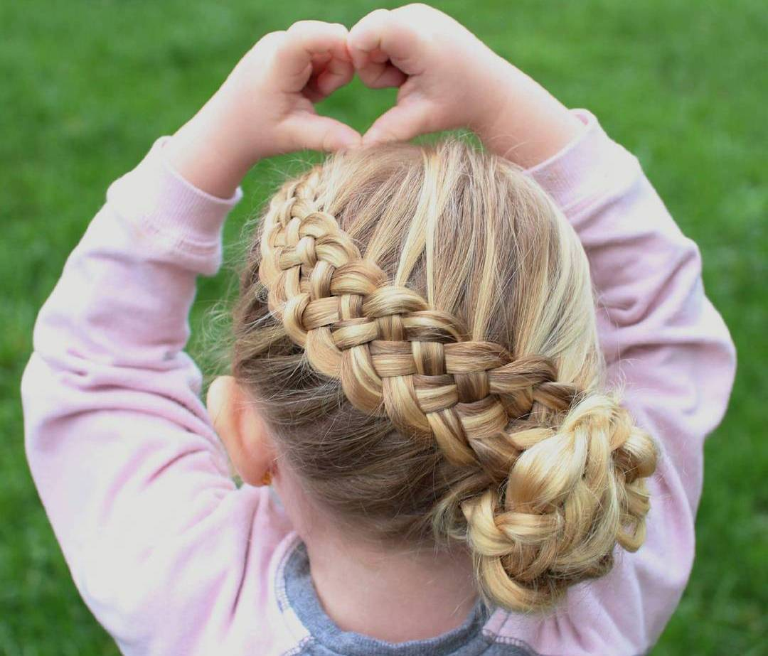 Wedding Hair Style For Little Girls: 40 Pretty Fun And Funky Braids Hairstyles For Kids