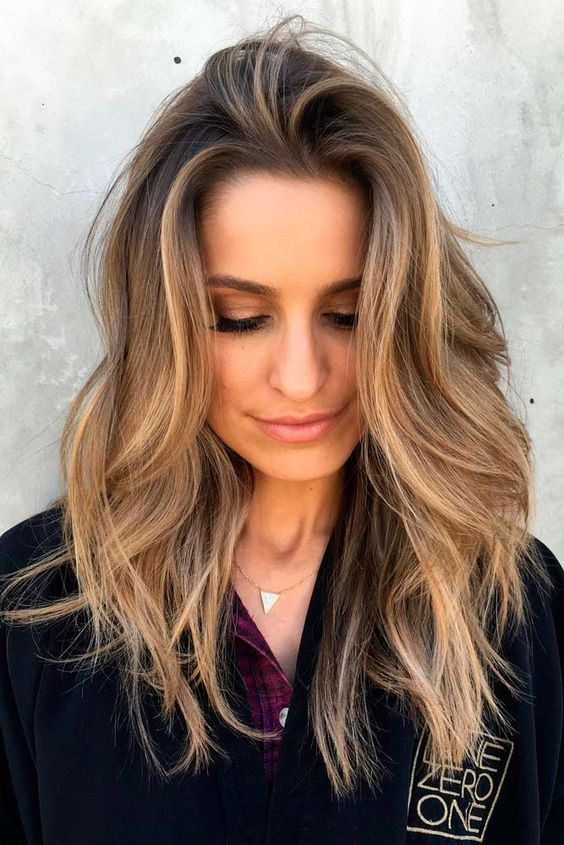 35 best haircuts for manageable thick hair of any length part 2 if your very thick hair looks too bulky in a shoulder length haircut growing it past your collarbone should allow your strands to weight themselves down a urmus Choice Image