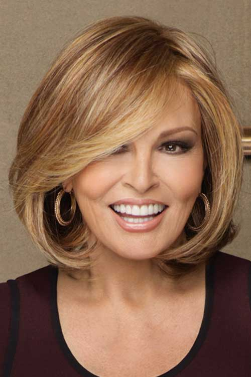 35 sophisticated hairstyles for stylish women over 60 26bouncy bob urmus Images