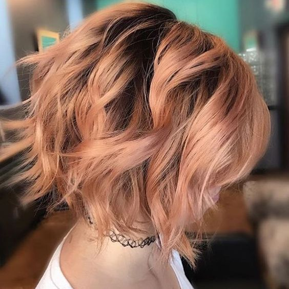 35 Balayage Styles And Color Ideas For Short Hair Part 8