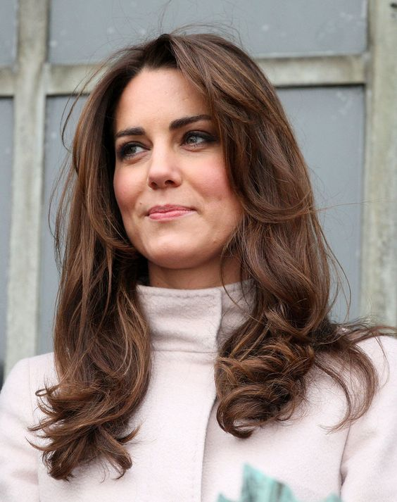 35 best haircuts for manageable thick hair of any length princess kates signature style is best pulled off with a thick head of hair some light face framing layers help to balance the look but this haircut is urmus Gallery