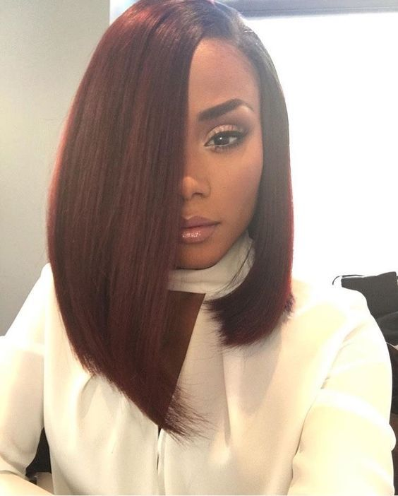 35 stunning protective sew in extension hairstyles 30straight asymmetrical style urmus Image collections
