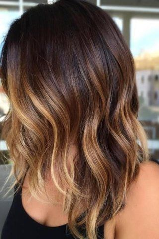 Highlights for dark brown hair brown hairs the tiger s eye hair color trend aims to mimic the rich brown and yellow hues dark chocolate highlights pmusecretfo Images