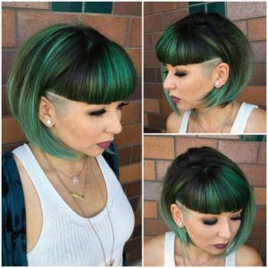 60 modern shaved hairstyles and edgy undercuts for women - Moderne haarschnitte 2017 ...