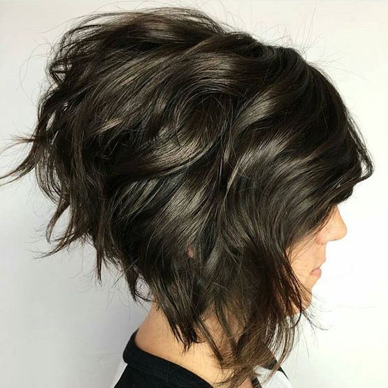 The Stacked Layers In Back Of This Bob Haircut Create A Crazy Amount Volume When Treated To Right Product And Styling Techniques