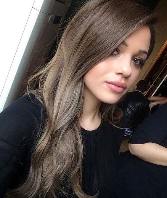 35 smoky and sophisticated ash brown hair color looks an ultra subtle blonde balayage helps to brighten this cool brown style up without bringing in any warmer shades fair skinned beauties with cool pink tones urmus Images