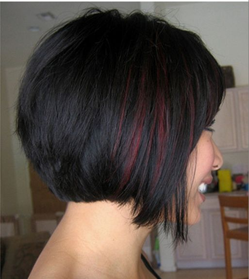 35 gorgeous peekaboo highlights to enhance your hair 28burgundy peekaboo panel pmusecretfo Choice Image