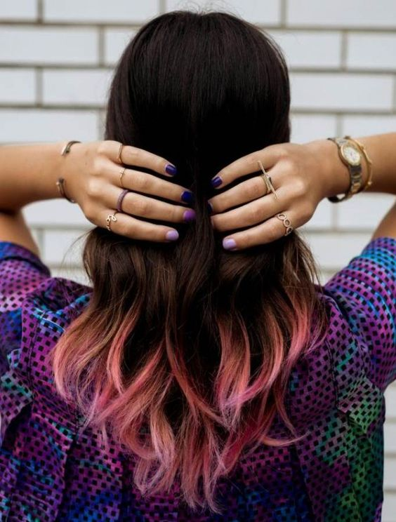 Dip Dye Hair Guide How To Dip Dye Your Hair At Home
