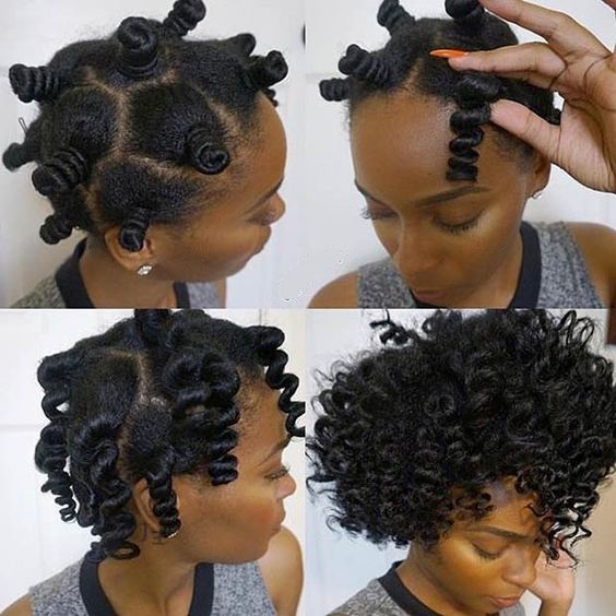What To Use For Bantu Knots On Natural Hair