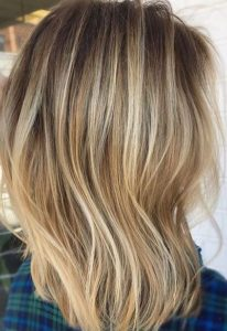 golden sandy blonde hair