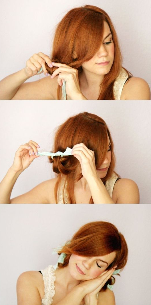 How to Get Loose Curls Without the Twisting If you've been trying to recreate the wavy hairstyle at home, then you've probably seen a dozen YouTube videos on how to get loose curls showing you the same technique–the one where you twist your hair around a curling iron.