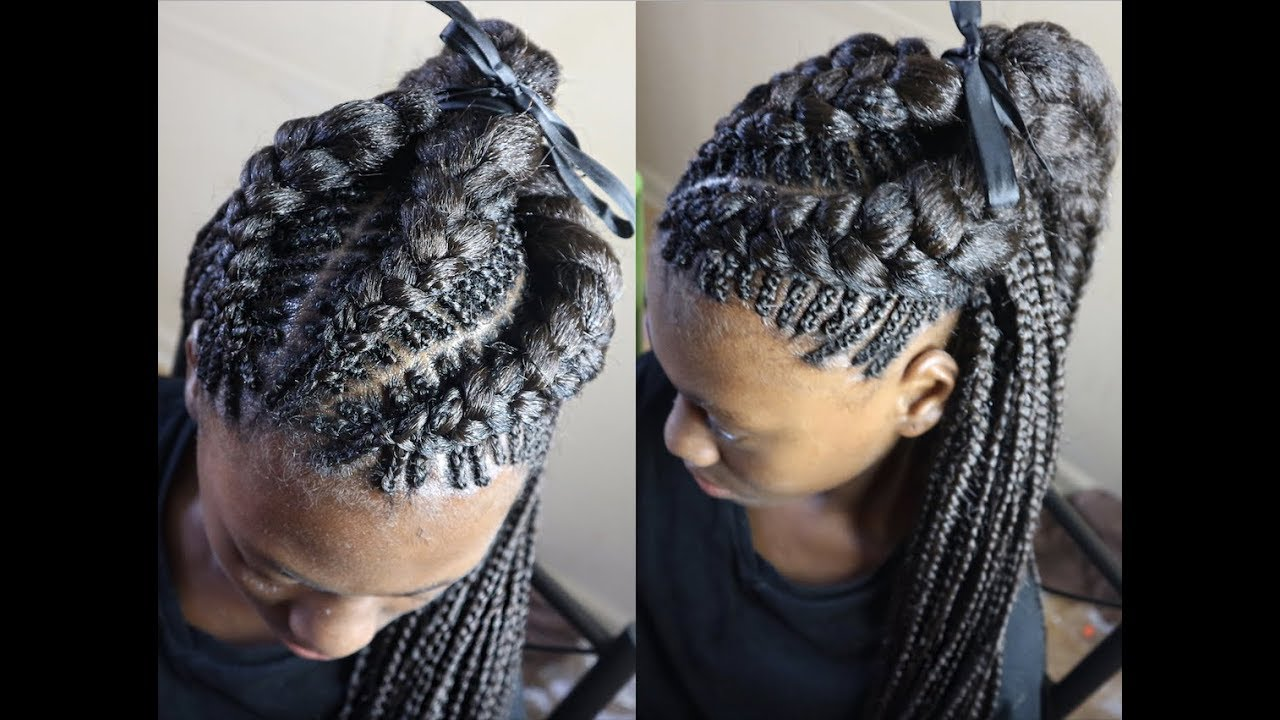 Black Hairstyles With Side Braids: 30 Beautiful Fishbone Braid Hairstyles For Black Women