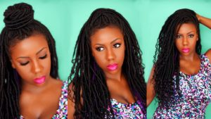 goddess locs tutorial