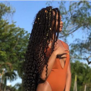 ultra long goddess locs
