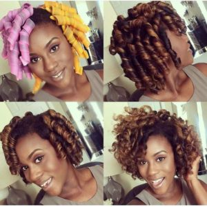 Curlformers hairstyle