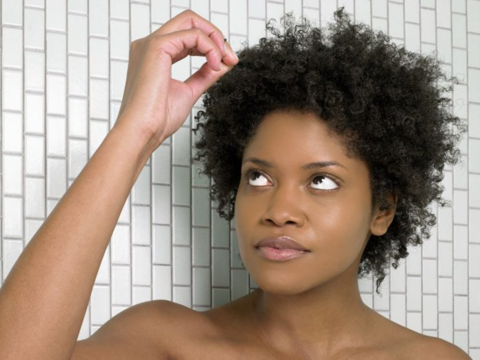 how to restore natural curl pattern to heat damaged hair