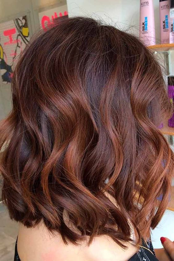 chestnut brown hair with auburn highlights brown hairs