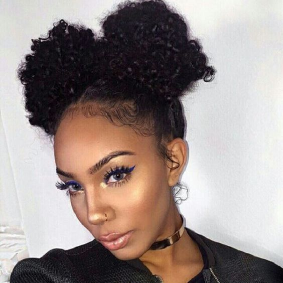Easy Twist Updo Natural Hair