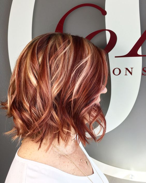 Natural Red Color For Hair