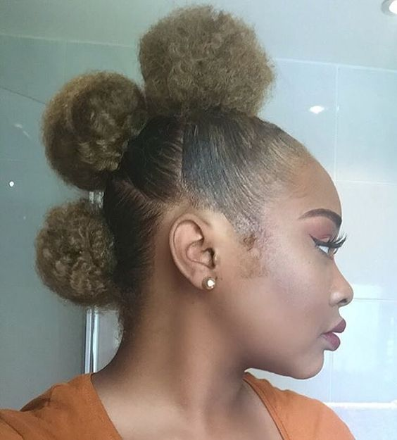 35 Frohawk Styles and How-To for Natural Hair Women