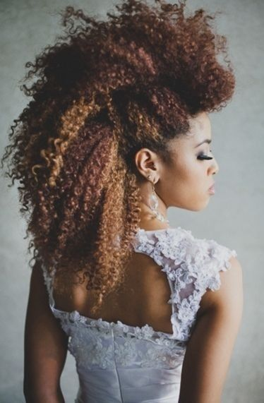 35 Frohawk Styles And How To For Natural Hair Women