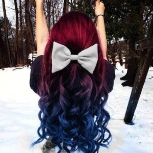 ombre color and hombre hair