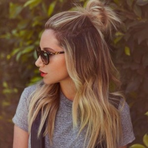 up knot hairstyles