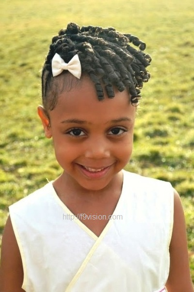 Stupendous Little Black Girl Hairstyles 30 Stunning Kids Hairstyles Natural Hairstyles Runnerswayorg